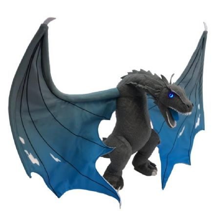 Game Of Thrones Jumbo Icy Viserion Dragon Light Up Plush